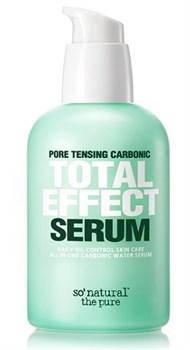 SONATURAL Матирующая сыворотка для жирной кожи Pore tensing carbonic total effect serum,80мл - фото 10685