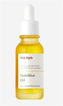Концентрированное питательное масло для лица Manyo Nutritive Oil, 20ml - фото 11049