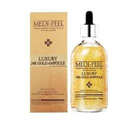Medi-Peel Ампула с золотом 24К для эластичности кожи - Luxury 24K gold ampoule, 100мл - фото 11647