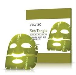 VELVIZO, Sea Tangle  Гидрогелевая маска для лица с экстрактом 7-ми морских водорослей, 20г - фото 12199