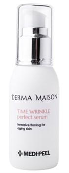 MEDI-PEEL Антивозрастная сыворотка с коллагеном и вит. Е Derma Maison Time Wrinkle Perfect Serum (50ml) - фото 12363