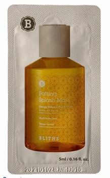 BLITHE, Сплэш-маска для сияния «Энергия Цитрус и мед», 5 мл (пробник) - фото 12500