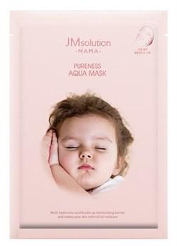 JM Solution Гипоаллергенная увлажняющая тканевая маска Mama Pureness Aqua Mask 30ml - фото 12600
