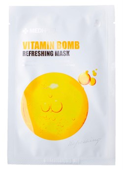 Medi-Peel Маска освежающая с витаминным комплексом - Vitamin bomb mask, 25мл - фото 12822