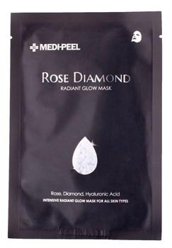Medi-Peel Маска для сияния кожи с алмазной пудрой - Rose diamond mask, 25мл - фото 12826