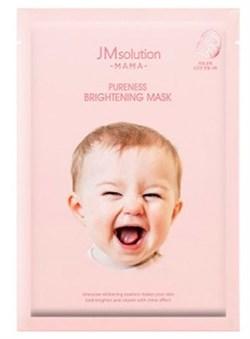 JMsolution Маска тканевая для сияния кожи - MAMA Pureness brightening mask, 30мл - фото 12848