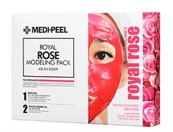 Альгинатная маска для лица с экстрактом розы MEDI-PEEL Modeling Pack Royal ROSE, 4*50гр - фото 12932