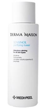 Очищающий тонер с азуленом для чувст.кожи MEDI-PEEL Derma Maison Sensinol Purifying Toner, 250ml - фото 12970