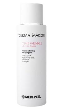 Антивозрастной тонер с коллагеном и витамином Е MEDI-PEEL Derma Maison Time Wrinkle Toner, 250ml - фото 12971