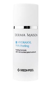 Пилинг-сыворотка с РНА кислотами и ферментами MEDI-PEEL Derma Maison Hydraxyl PHA Peeling, 100ml - фото 12975
