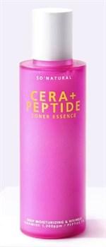 Пептидный тонер для зрелой кожи So'Natural Cera+ Peptide Toner Essence, 120ml - фото 13059