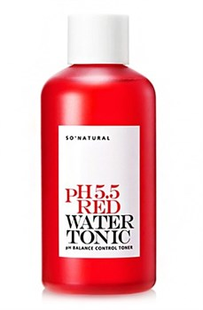 SONATURAL Тонер для лица  5.5 red water tonic, 250 мл - фото 13101