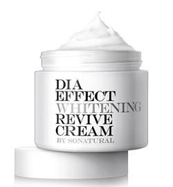 Осветляющий крем SONATURAL Dia Effect Whitening Revive Cream, 70 мл - фото 13167