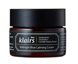 Ночной крем для сверхчувствительной кожи Krairs Midnight Blue Calming Cream, 30 мл - фото 13240