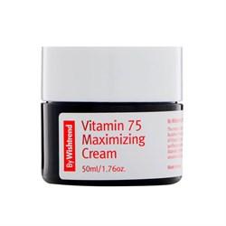 Витаминный крем с экстрактом облепихи BY WISHTREND Vitamin 75 Maximizing Cream, 50 мл - фото 13367