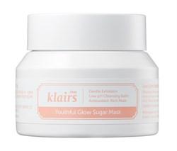Сахарная маска-скраб для сияния кожи Klairs Youthful Glow Sugar mask, 110 гр - фото 13410