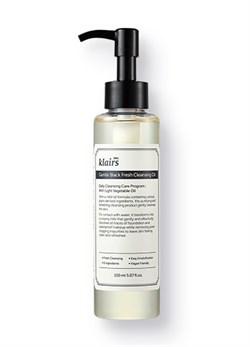 Гидрофильное масло Klairs Gentle Black Fresh Cleansing Oil, 150 мл - фото 13495