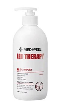 Укрепляющий шампунь с пептидами MEDI-PEEL Led Therapy Shampoo, 500 мл - фото 13592