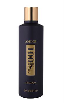 Премиальный шампунь против выпадения волос, зуда и перхоти Dr. Pepti+ AMINO 100K PREMIUM SHAMPOO, 250 мл - фото 13741