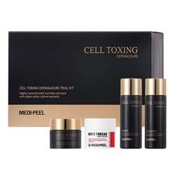 Набор миниатюр с лифтинг эффектом MEDI-PEEL Cell Toxing Dermajours Trial Kit (4 ед.) - фото 13758
