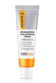 Крем увлажняющий с бета глюканом ACWELL Glution Ultra Moisture Cream, 50 мл - фото 13786