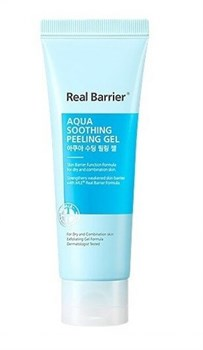 Успокаивающий пилинг гель REAL BARRIER Aqua Soothing Peeling Gel, 120 мл - фото 13791