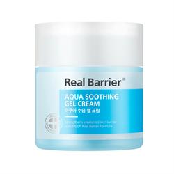 Успокаивающий увлажняющий гель-крем REAL BARRIER Aqua Soothing Gel Cream, 50 мл - фото 13808