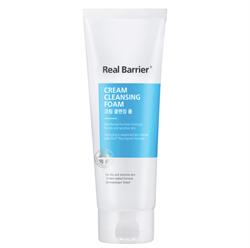 Очищающая пенка мягкого действия с PН 5.5 REAL BARRIER Cream Cleansing Foam, 150 гр - фото 13819