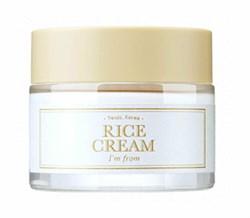 Увлажняющий крем с экстрактом риса I'm From Rice Cream, 50 мл - фото 13835
