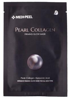 MEDI-PEEL  Разглаживающая маска с жемчугом и коллагеном Pearl Collagen Mask (25ml) - фото 13850