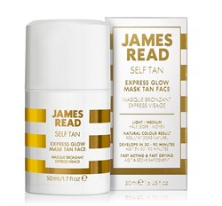 Экспресс-маска для лица автозагар JAMES READ Express Glow Mask Face (серия SELF TAN), 50 мл - фото 14047