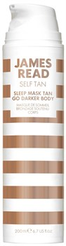 Ночная маска для тела уход и загар темная JAMES READ Sleep Mask Tan Body - Dark (серия SELF TAN), 200 мл - фото 14050