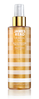 Спрей для тела JAMES READ H2O ILLUMINATING TAN MIST BODY (серия GRADUAL TAN), 200 мл - фото 14063