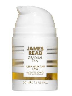 Ночная маска для лица уход и загар JAMES READ Sleep Mask Tan Face (серия GRADUAL TAN), 50 мл - фото 14072
