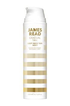 Ночная маска для тела уход и загар JAMES READ Sleep Mask Tan Body (серия GRADUAL TAN), 200 мл - фото 14084