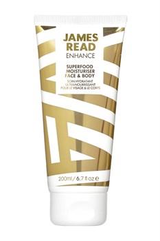 Увлажняющий лосьон для лица и тела JAMES READ Superfood moisturiser FACE & BODY, 200 мл - фото 14085