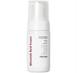 Пенка для проблемной кожи с салициловой кислотой Manyo Factory Blemish Red Foam, 100 мл - фото 14122