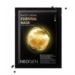 Маска тканевая с экстрактом чёрной икры Neogen Black Caviar Essential Mask, 23 мл - фото 14230