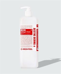 Восстанавливающий тонер с пробиотиками MEDI-PEEL Red Lacto Collagen Toner, 1000 мл - фото 14270