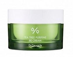 Крем для проблемной кожи с чайным деревом Dr.Ceuracle Tea tree purifine 80 cream, 50 мл - фото 14347