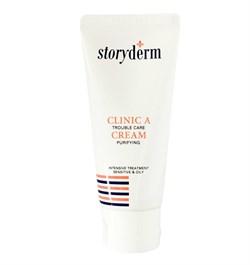 Антибактериальный крем для проблемной кожи Storyderm Clinic-A Cream, 50 гр - фото 14437
