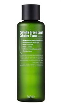 Успокаивающий тонер с центеллой азиатской Purito Centella Green Level Calming Toner, 200 мл - фото 14487