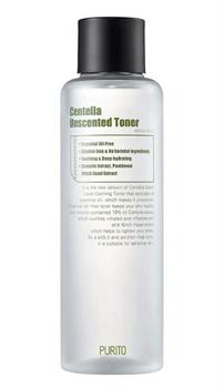 Тонер с центеллой для чувствительной кожи PURITO Centella Unscented Toner, 200 мл - фото 14488