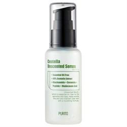 Концентрированная сыворотка для чувствительной кожи Purito Centella Unscented Serum, 60 мл - фото 14505