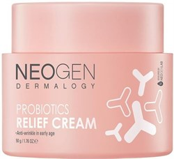 Крем с пробиотиками Neogen Dermalogy Probiotics Relief Cream, 50 гр - фото 14540