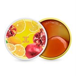 Осветляющие патчи от тёмных кругов Jayjun Cosmetics Pom Lemon Duo Eye Gel Patch, 60 шт - фото 14632