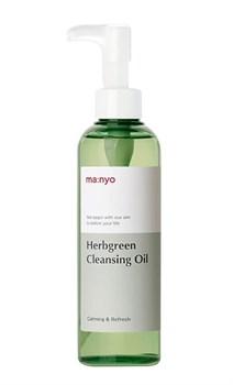 Гидрофильное масло MANYO FACTORY Herb Green Cleansing Oil, 200 мл - фото 14667
