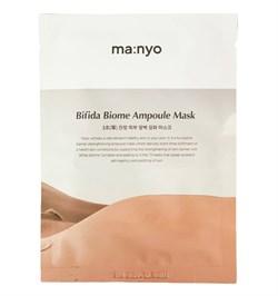 Восстанавливающая ампульная тканевая маска Manyo BIFIDA BIOME AMPOULE MASK, 30g - фото 14680