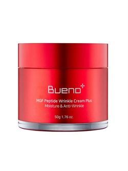 Регенерирующий лифтинг-крем Bueno MGF Peptide Wrinkle Cream Plus Moisture & Anti-Wrinkle, 50 мл - фото 14891