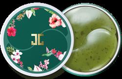 Гидрогелевые патчи с лепестками зелёного чая  JayJun Green Tea Eye Gel Patch, 60 шт. - фото 8601